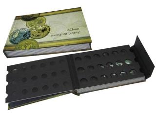 Klaser numizmatyczny 25x17,6cm 8k. z klapk± zabezpieczaj±c±
