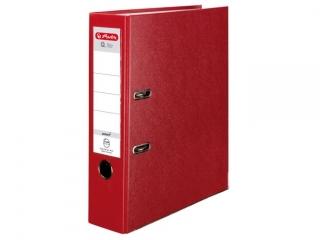 Segregator A4 8cm HERLITZ Q.file standard PP - czerwony