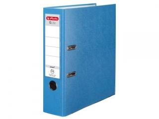 Segregator A4 8cm HERLITZ Q.file standard PP - aqua