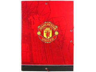 Teczka twarda z gumk± DERFORM Manchester United (TTGMU)