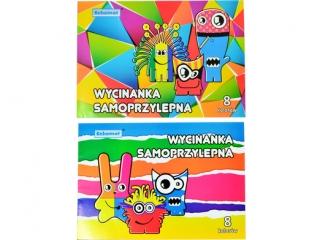 Zeszyt papierów kolorowych samoprzylepnych A5 SCHEMAT