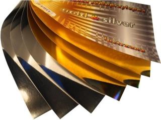 Wycinanka samoprzylepna CORMORAN A4 6k. Gold & Silver