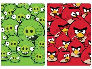 Zeszyt A5 96k. INTERDRUK Angry Birds kratka