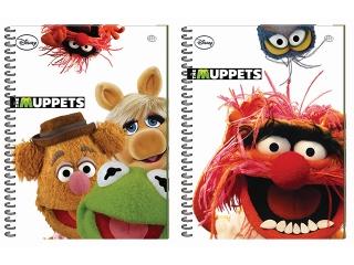 Ko³obrulion B5 100k. INTERDRUK The Muppets kolorowe margines